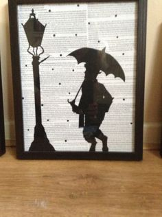 Narnia quotes and silhouettes