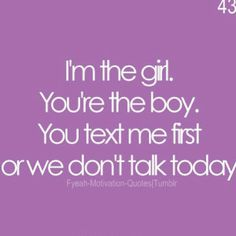 I need to do this, I talk to you EVERY single day even when I'm mad at you. But I need to knock it off