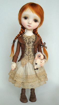 Paulinne - Original doll by Ana Salvador