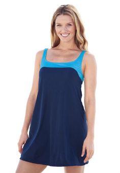Swim 365 Plus Size 2-Piece Tunic Swimsuit - List price: $95.97 Price: $55.97