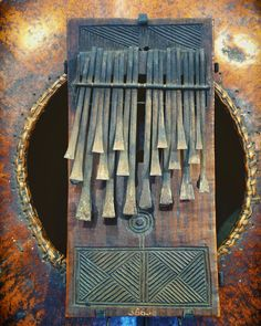 Sanza - African Thumb Piano  I think this one is particularly lovely.