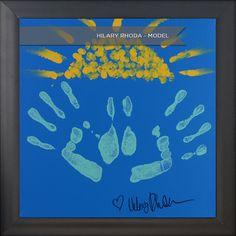 Hilary Rhoda #Hands4Habitat Handprints for Valspar Paint