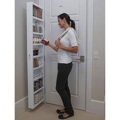 5e39da387c Cabidor® Classic Deluxe Behind Door Storage Cabinet