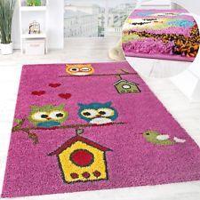 Simple Kinderteppich Kinder Teppich Wandteppich Spielteppich L ufer moderner Kinderzimmer Teppich Kinderzimmerteppich Eulen Teppich Eulenteppich Eule Owl u