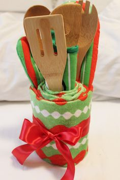 diy shower hostess gifts weddingbee boards see more kitchen towel cake