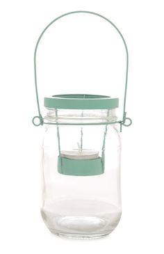Mint Green Suspended Tealight Jar