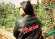 OOTD - Tough Girl Leather | How to Style a Trendy Biker Jacket | The Shopaholic Diaries - Indian Fashion, Shopping and Lifestyle Blog !