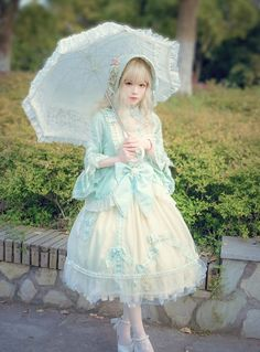 -The Princess of the Duke- Lolita OP Dress and Accessories