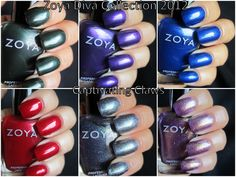 Captivating Claws--Zoya Diva Collection 2012
