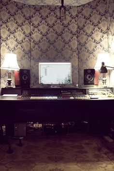 I will have a recording studio in my future home.