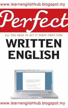 """Cover of """"Perfect Written English"""""""