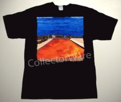 RED HOT CHILI PEPPERS Californication CUSTOM ART UNIQUE T-SHIRT RHCP Each T-shirt is individually hand-painted, a true and unique work of art indeed! To order this, or design your own custom T-shirt, please contact us at info@collectorware.com, or visit http://www.collectorware.com/tees-rhcp.htm