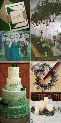 From bouquets to bridesmaids dresses, centerpieces to cakes, get tons of inspiration for a green wedding. See photo credit on the article