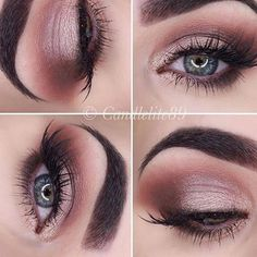 Tartelette In Bloom palette look Brie I have this palette Beautiful Eye Makeup, Pretty Makeup, Love Makeup, Makeup Inspo, Makeup Inspiration, Makeup Ideas, Fall Makeup, Tartelette In Bloom Looks, Tartelette In Bloom Palette