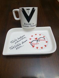 Mugs, Tableware, Wedding, Home Decor, Valentines Day Weddings, Dinnerware, Decoration Home, Room Decor, Tumblers