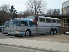 Greyhound Scenicruiser Bus by Scooter Trash, via Flickr