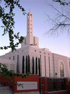 Madrid Spain Temple. LDS. Mormon.