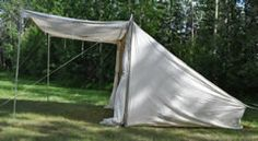 "Canvas Baker Tent or ""Campfire Tent"""