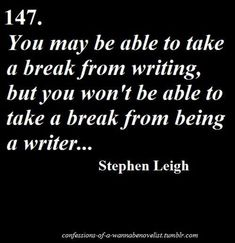 I may not always be writing but I am always a writer! Writing Advice, Creative Writing, Writing A Book, Writing Prompts, Writing Skills, Infp, Writing Motivation, I Am A Writer, A Writer's Life