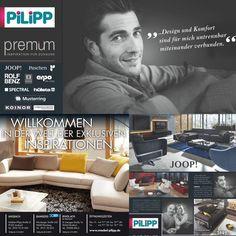 PILIPP premium - Wilkommen in der Welt der exklusiven Inspiration.