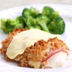 Chicken Cordon Bleu - Made for Easter dinner -good and easy!  I used small chicken breasts, not pounded flat. Baked for 35 minutes. (scheduled via http://www.tailwindapp.com?utm_source=pinterest&utm_medium=twpin&utm_content=post1536223&utm_campaign=scheduler_attribution)