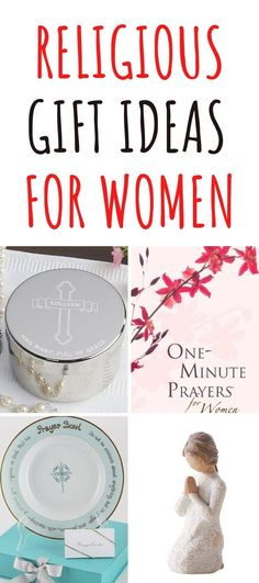 Religious Gifts for Women - Looking for religious gifts for her? Our gift guide features religious gift ideas including jewelry, home decor and more! | Gifts for Older Women