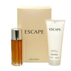 Escape by Calvin Klein for Women, Set (Eau De Parfum Spray 3.4 Ounce, Body Lotion 6.7 Ounce) Calvin Klein,http://www.amazon.com/dp/B000P250TE/ref=cm_sw_r_pi_dp_L7tRsb0E600RDFVQ