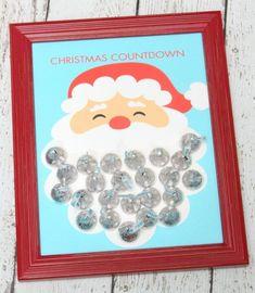 Kisses Santa Advent Calendar | 25+ MORE Christmas Advent Calendars