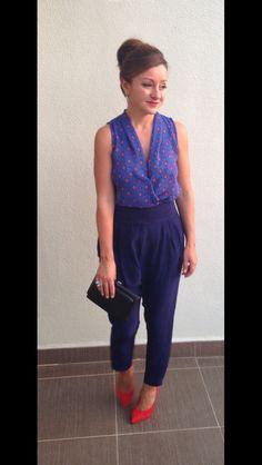 Blue... Capri Pants, Blue, Style, Fashion, Swag, Moda, Capri Trousers, Fashion Styles, Fashion Illustrations