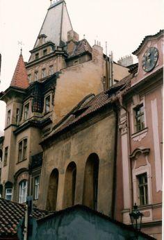 Old buildings in Prague, Czech Republic