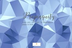 Word of the week: Propinquity