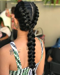 African Hairstyles, Weave Hairstyles, Make Beauty, Braided Ponytail, How To Make Hair, Box Braids, Hair Inspo, Curly Hair Styles, Fashion Beauty