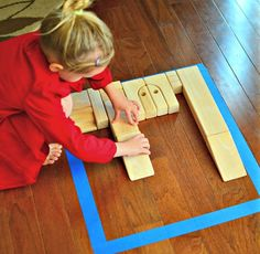 DIY Wood Block Puzzles for Kids - In Lieu of Preschool