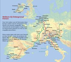 Onbegrensd Fietsen - bicycle routes through Europe