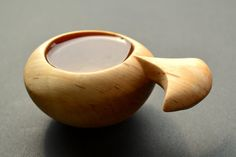 Kuksa Guksi the nordic wooden cup Handcarved from by Schnitzstube, €49.00