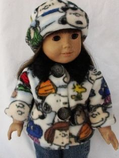(45) Outerwear - Doll Clothes by Jane Fulton