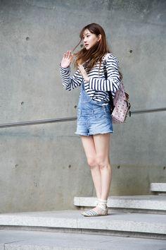 Yes Asian Street Seoul Fashion Week 2015 Seoul Fashion, Korea Fashion, Asian Fashion, Girl Fashion, Net Fashion, Asian Street Style, Korean Street Fashion, Street Style Women, Korean Style