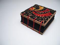 black red Book Art Mosaic signed MINIMAL by LaTenagliaImpazzita, €90.00