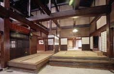 The grand main rooms of the Yoshijima House in Takayama, Japan.