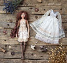 Купить Лидия - голубой, бохо, авторская кукла, коллекционная кукла, интерьерная кукла, текстильная кукла