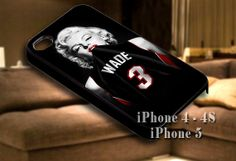 Marilyn Monroe Miami Heat Dwyane Wade for iPhone case-iPhone 4/4s/5/5s/5c case cover-Samsung Galaxy S3/S4/ case cover