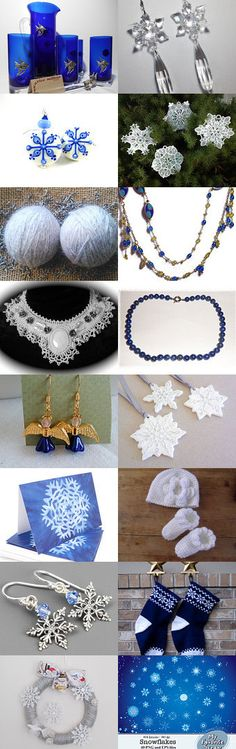 My Pretty Little Snowflake by BelladonnasJoy on Etsy--Pinned with TreasuryPin.com #winterfinds