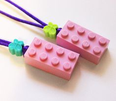 LEGO Friends Necklace Party Favor/ Gift ~ Great for a birthday party, decorations, supplies, crafts, or favors!