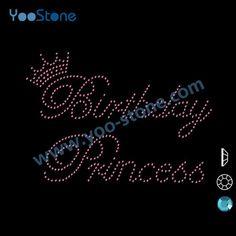 Cute Cheap Birthday Princess Motif Rhinestone Wholesale 2e8f012801c6