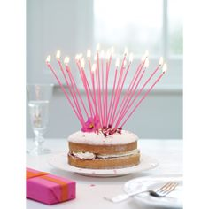 Celebration Tapers - pink http://tidd.ly/2009503a