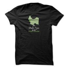 My Shih Tzu is my Lucky Charm T-Shirts, Hoodies. VIEW DETAIL ==► Funny Tee Shirts