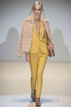 Gucci | Fall 2014 Ready-to-Wear Collection | Style - FUR - PIEL - FOURRURE - PELLICCIA - МЕХ - PELE - פרווה - @JenniferManteca on Twitter