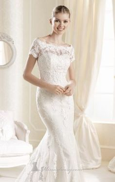 Strapless Sweetheart Gown by La Sposa IDDE