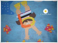 decoração sala de aula fundo do mar - Buscar con Google