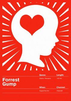Flyer Goodness: Movie Posters & Film Logotypes from Maciej Żelaznowski